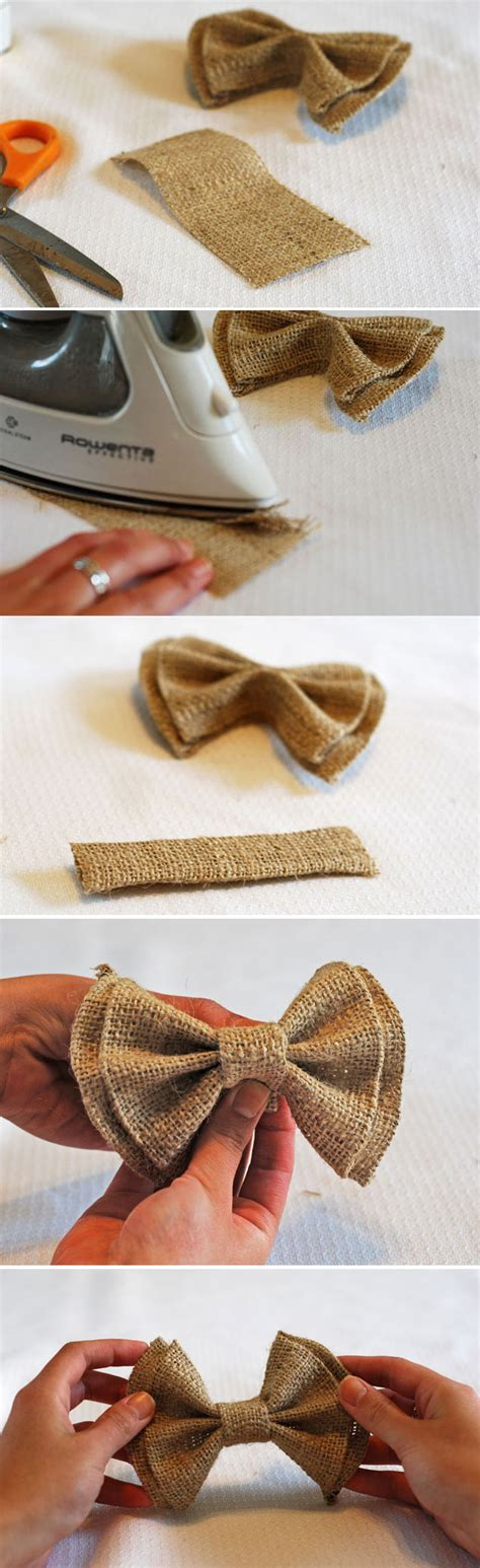 diy cara membuat bros no sew diy clip on bow ties