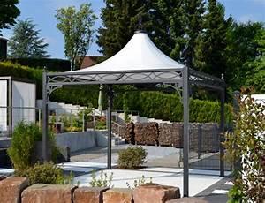 Garten Lampions Wetterfest : bo wi outdoor living profi pavillon roma ~ Frokenaadalensverden.com Haus und Dekorationen