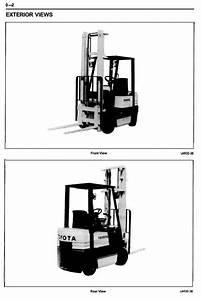 Toyota 5fgc10  5fgc13  5fgc15 Lpg Forklift Truck Workshop
