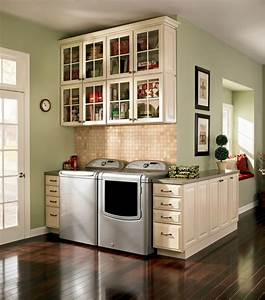 Laundry traditional laundry room dc metro by for Kitchen cabinets lowes with theater room wall art