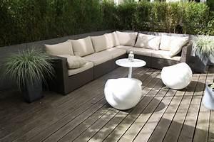 Salon de jardin pour terrasse amazing lampadaire design for Charming decoration pour jardin exterieur 0 decoration salon pour petit appartement