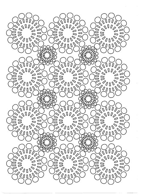symmetry coloring pages  adults