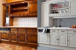 Peinture cuisine ancienne home renove vendee for Deco cuisine pour meuble a vendre