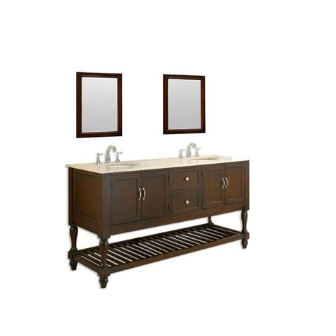 direct vanity sink mission turnleg 70 in double vanity in
