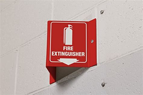 Brady V Sign Fire Extinguisher With Picto