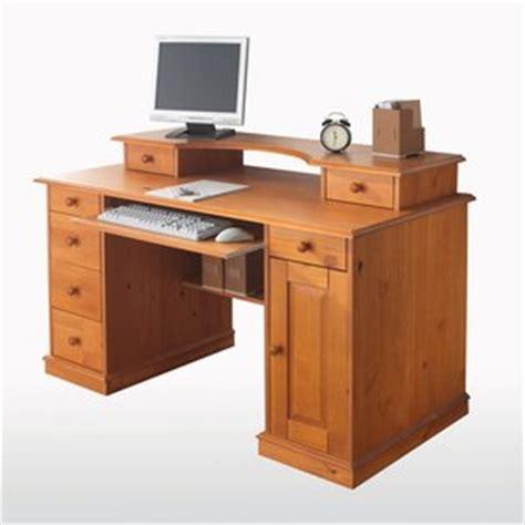 bureau fermé pour ordinateur bureau informatique pin massif acheter ce produit au
