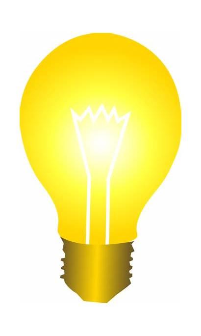 Lightbulb Clip Bulb Wikiclipart Idea Cliparting Clipart