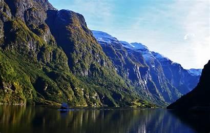 Fjord Norway Wallpapers Mountain 4k