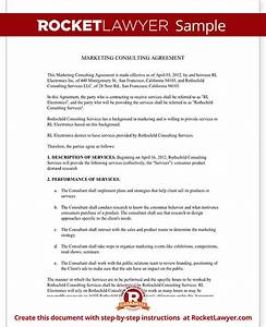 marketing consulting agreement contract rocket lawyer With marketing consultant contract template