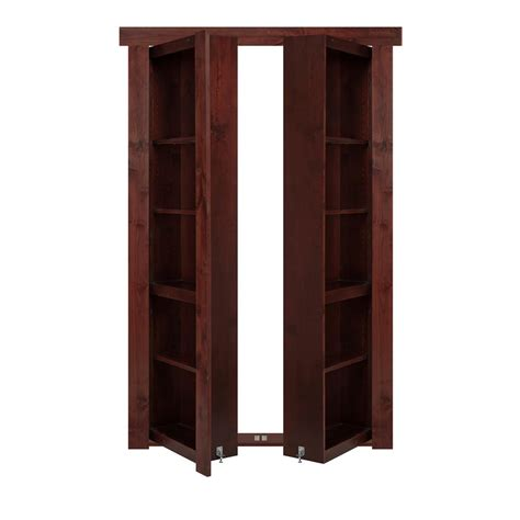 Murphy Bookcase by The Murphy Door 48 In X 80 In Flush Mount Assembled