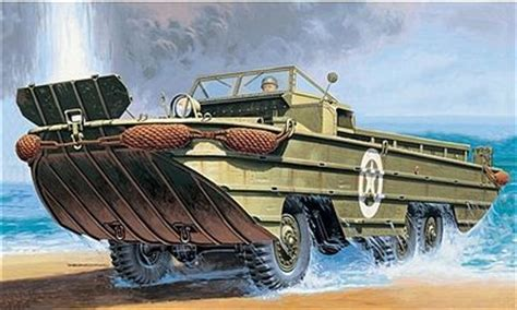 Ww11 Duck Boats For Sale by Dukw Wwii Hibious Vehicle Plastic Model