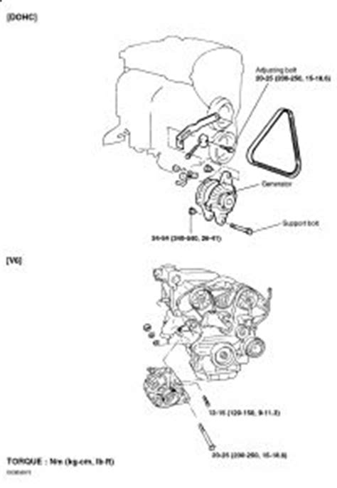 hyundai sonata changing  alternator electrical
