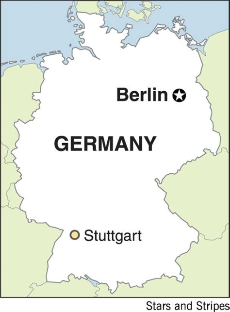 stuttgart on map stuttgart germany map
