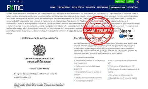 Fxmarketscapital  Fxmc Opinioni Broker Forex Truffa