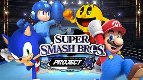 Ssbpm Megaman Vs Mario Vs Pacman Vs Sonic Duels Youtube