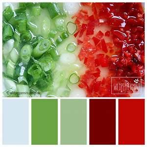Farbpalette Wandfarbe Grün : farbpalette italia sommerliche farbinspiration gr n rot wildpeppermint ~ Indierocktalk.com Haus und Dekorationen