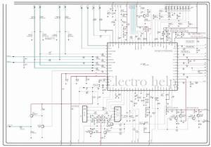 Electro Help  Cl21a551 Samsung Crt Tv  U2013 Circuit Diagram