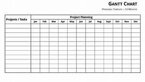 Free Gantt Chart Template Excel Word
