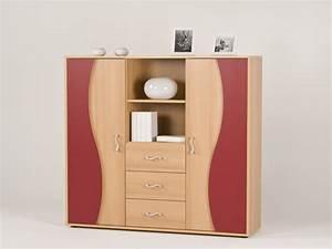 Kommode Buche Nachbildung : highboard sideboard kommode anrichte buche rot ebay ~ Frokenaadalensverden.com Haus und Dekorationen