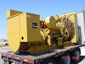 1000 Kw Caterpillar 3512  Generator Set  480 V   742 Hours  1995