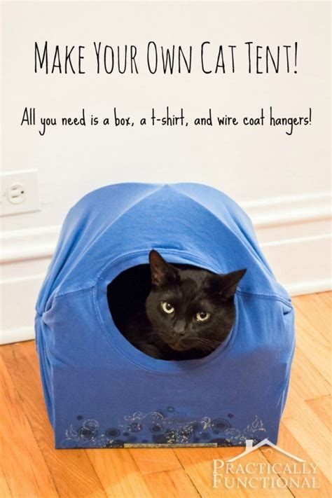cat tent diy how to make a recycled material cat tent recycled crafts