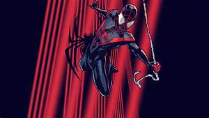 Ultimate Spider-Man: Miles (Variant) | Wallpaper by ...