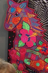 Design La Tokyo Quilt Festival 2006 Mola Quilt Detail 1