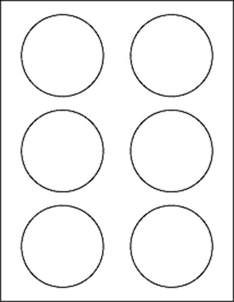 Psd Template 6 Circles 3 Inch Diameter 3 Quot Circle Labels Ol2279
