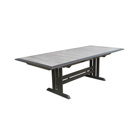 square extension dining table les jardins hegoa 125x41 quot rectangular extension dining 5667