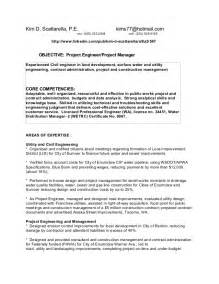 civil engineering skills resume resume pe civil