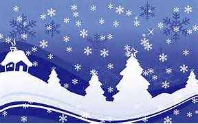 Snowflakes Falling Background