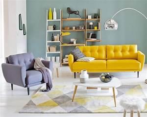 creer un salon style scandinave a prix doux joli place With idee deco cuisine avec mobilier scandinave vintage pas cher