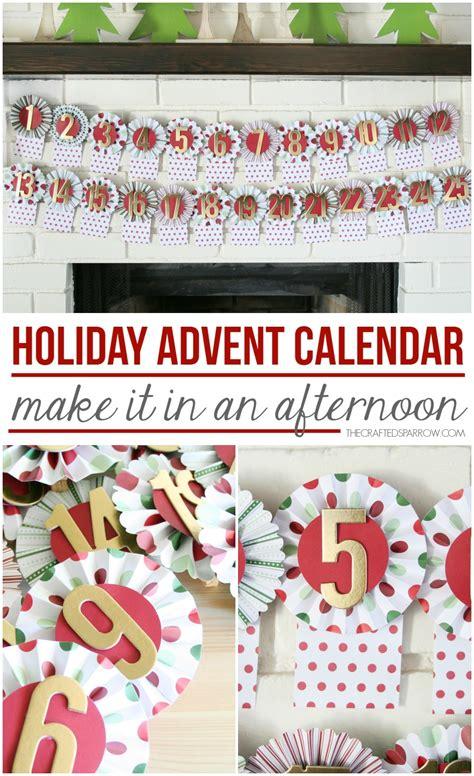 Holiday Advent Calendar Craft Kit