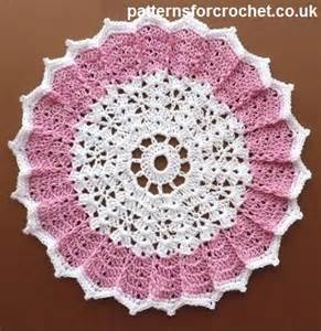 Free Crochet Patterns Doilies Table