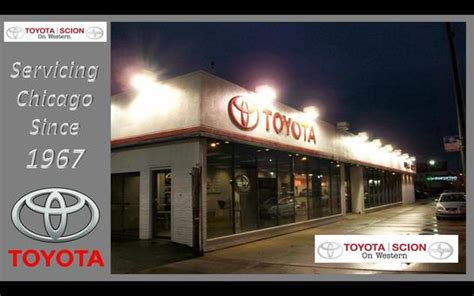 Toyota Dealership Chicago by Toyota On Western Car Dealership In Chicago Il 60636 3119