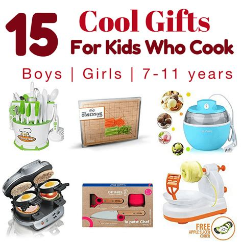 cool gifts for 15 best gifts for young cooks 7 12 year olds create kids club