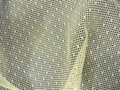 lace sheer swiss dot mini dotted embroidered net ivory