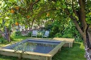 Piscine Hors Sol : comment installer une piscine dans un petit jardin ~ Melissatoandfro.com Idées de Décoration