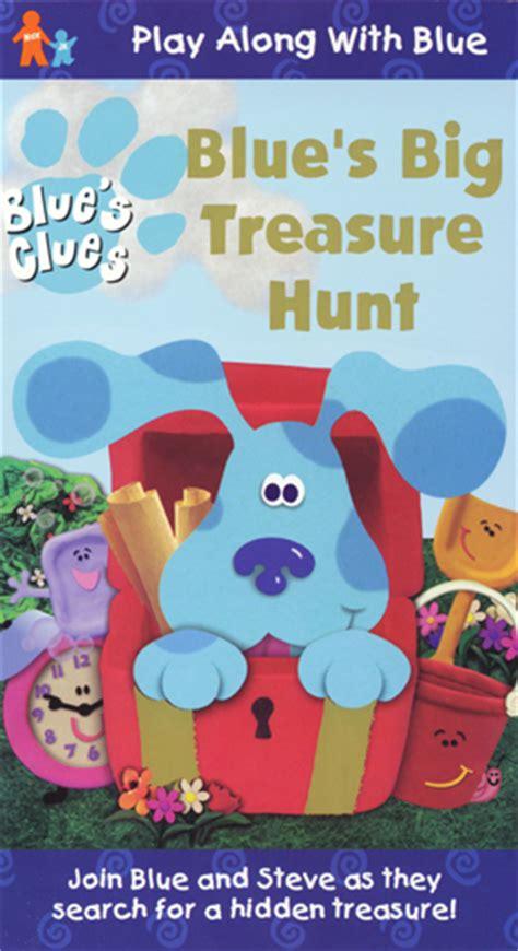 blues big treasure hunt vhs blues clues wiki