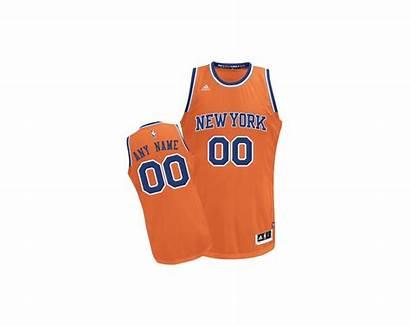 Knicks Orange Jersey York Customized Alternate