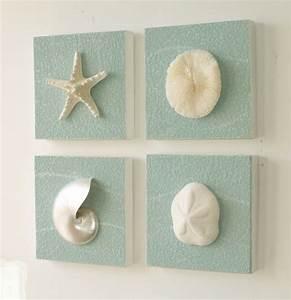 Beach theme wall decor bathroom walls ideas