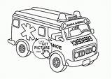 Coloring Ambulance Lego Transportation Printables Wuppsy Cars Printable Getcolorings Tags Truck доску выбрать Reliable sketch template