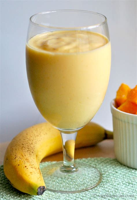 banana smoothie banana yogurt smoothie recipe dishmaps