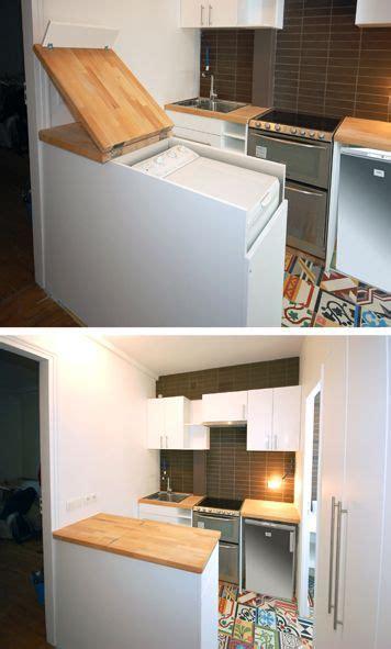 machine a laver dans la cuisine la fabrique à déco intégrer esthétiquement un lave linge