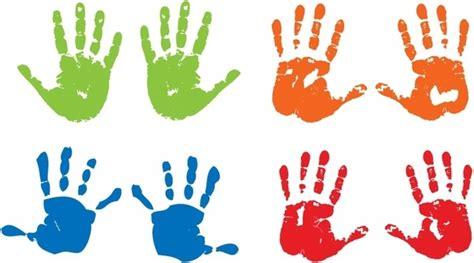 Vector Child Handprint Free Vector Download (926 Free