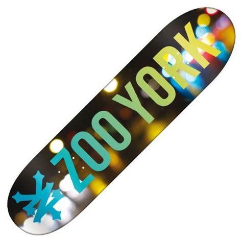 zoo york skateboard pouces incentive board light