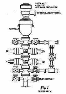 Patent Ep1627986b1 - Rotating Blow Out Preventer