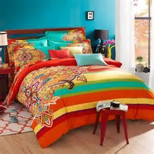 twin full queen size 100 cotton bohemian boho style beautiful girls comforter sets duvet cover