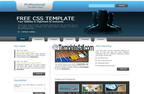 lawyer free css website template