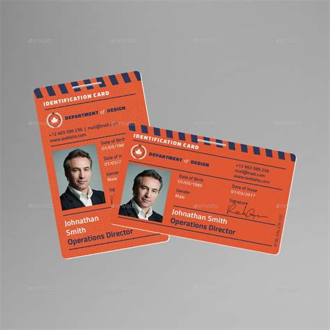id card  sanlife graphicriver